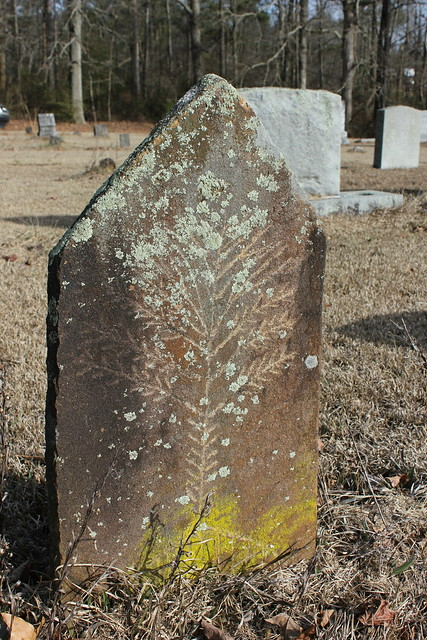 Monuments at Black Oak Cemetery, Grove Oak AL