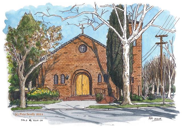 (the former) newman chapel, davis