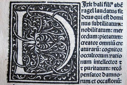 Liber in iudiciis astrorum initial d