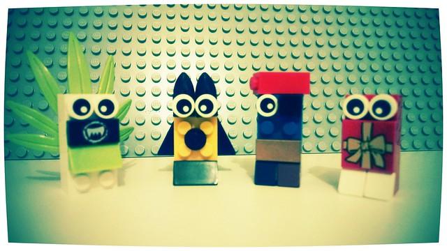 Chegou carnaval! Lego blocos!