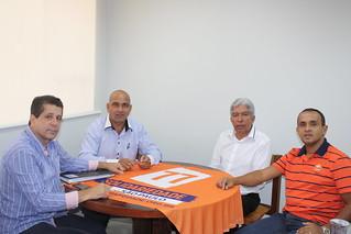 Carlão do JC, vereador em Rio Preto, tem reunião com lideranças nacionais e estaduais do Solidariedade