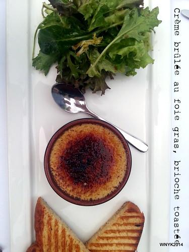Dessert meets Foie Gras
