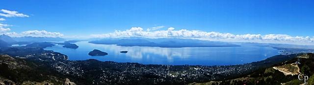 Lago Nahuel Huapi desde cerro Otto - Nahuel Huapi Lake from the top of Otto Hill (Patagonia Argentina)