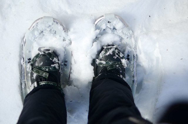 Snowshoeing @ Sugarbush