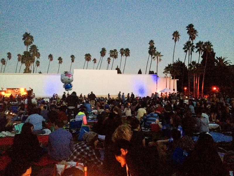 Cinespia, Hollywood Forever Cementery, Los Angeles