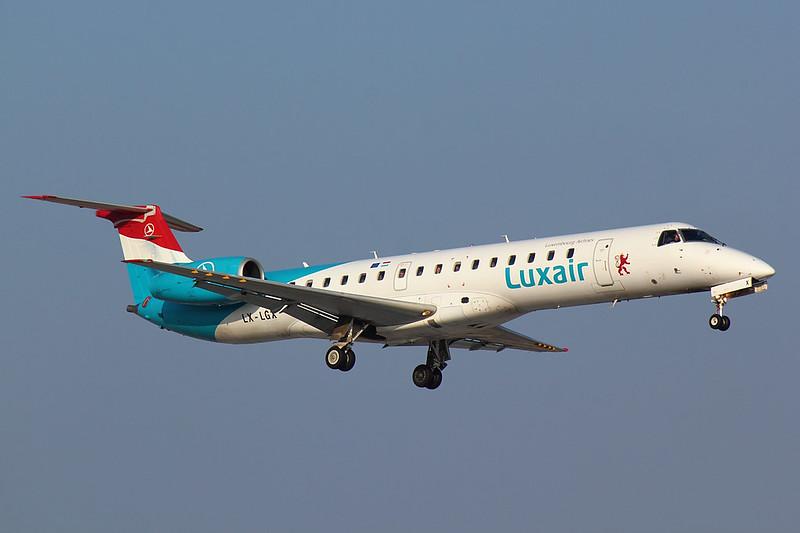 Luxair - E145 - LX-LGX (1)