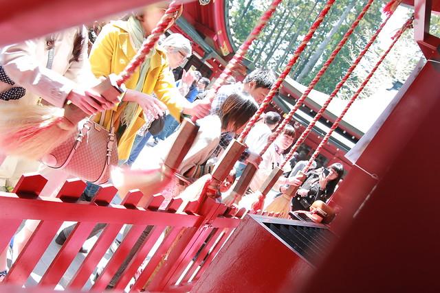 箱根神社 お賽銭