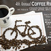 Coffee Ride Poster by Bici Girl