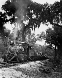 Cummer Sons Cypress Company Engine 104 - Lacoochee, Florida