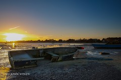 mudeford low tide