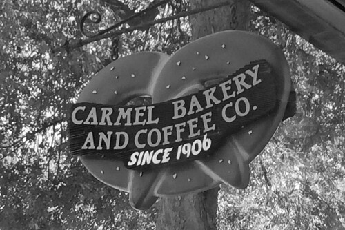 Carmel Bakery and Coffee Co - Sign
