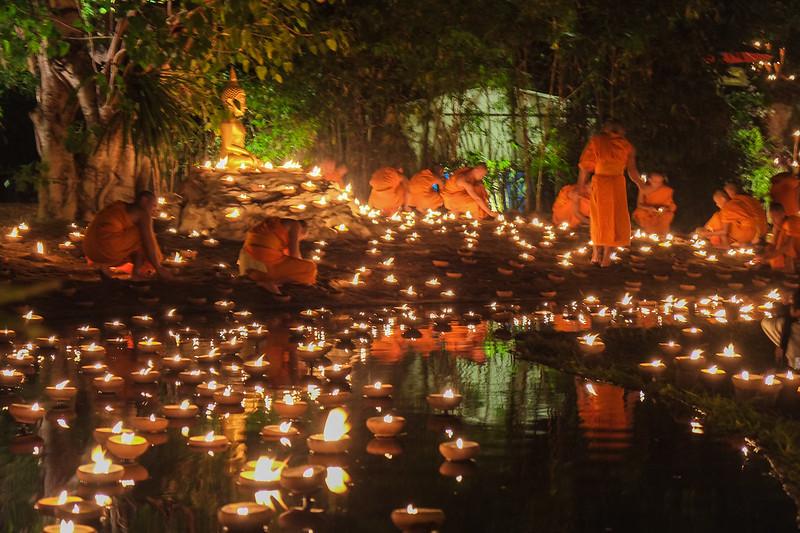 Makha Bukha Day, Wat Phan Tao