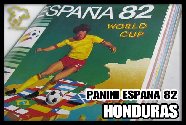 Honduras en Album PANINI España 82