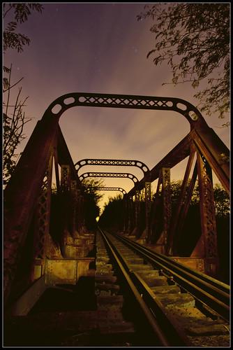 Puente FCGB sobre el Rio Areco