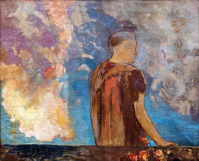 IMG_7513D Odilon Redon. 1840-1916.  Paris. Le Regard. Lille.