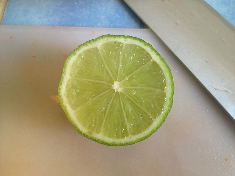 Pico de Gallo : Add the Lime Juice