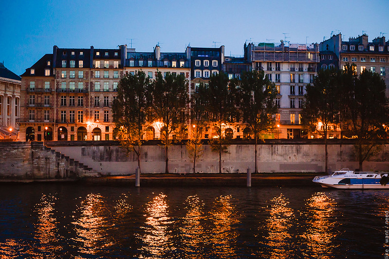 The Seine, 10:30pm