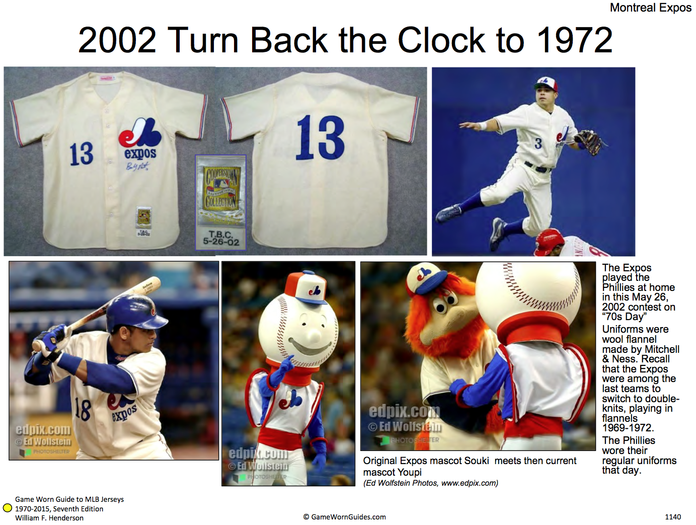 The Nats haven t yet acknowledged their franchise history by wearing Expos  throwbacks during their tenure in D.C. c1a2770a1