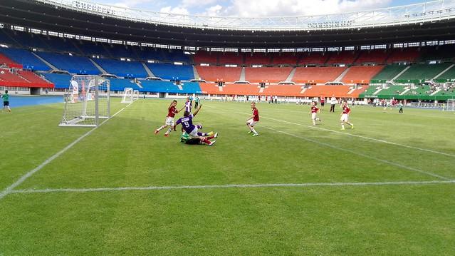 AC Milan - Austria Wien beim 8. Internationalen SK Rapid U9 Turnier im Ernst-Happel-Stadion