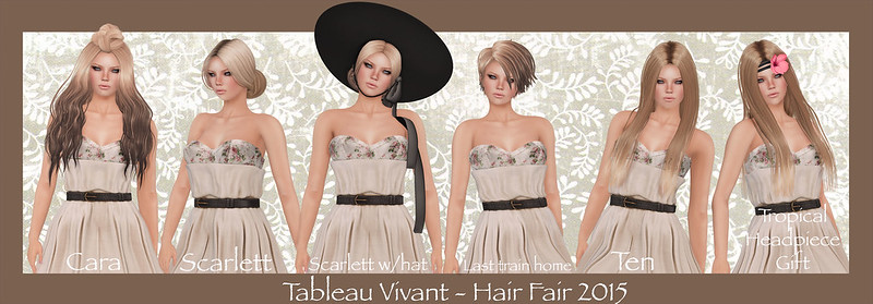 Tableau Vivant - Hair Fair 2015