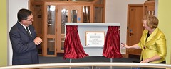 Surrey County Council Chairman Sally Marks has opened a new Coroner's Court complex in Woking.