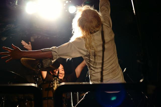 Bubble No.7 live at Outbreak, Tokyo, 23 Jul 2015. 074