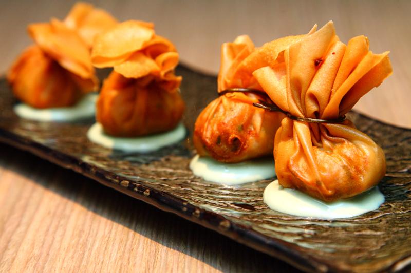 Crispy-Dumpling-with-Wasabi-Mayo