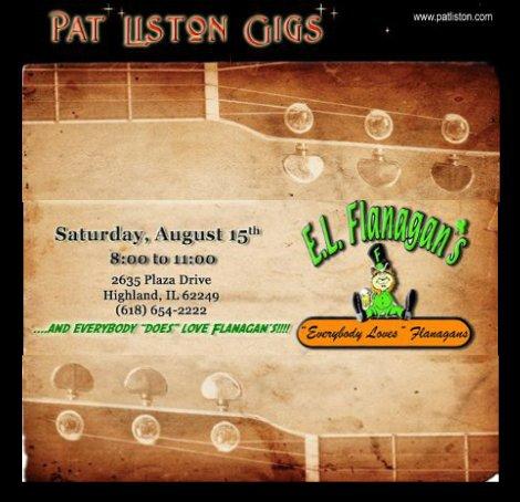 Pat Liston 8-15-15