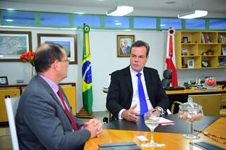 Vice-governador do Amazonas se encontra com vice de Rondônia