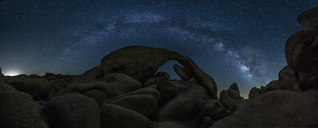 Arch Rock under the Milky Way