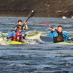 King of the Swellies wave - Sea Kayaking Anglesey