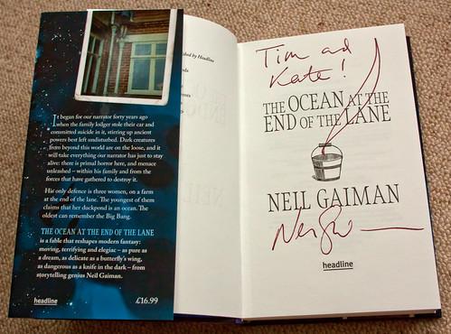 I met Neil Gaiman