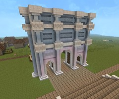 It's not a massive castle, but here is my Triumphal Arch