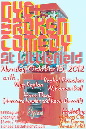Show Posters: broken comedy