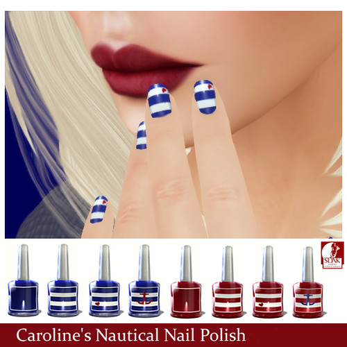 Nautical Nail Polish