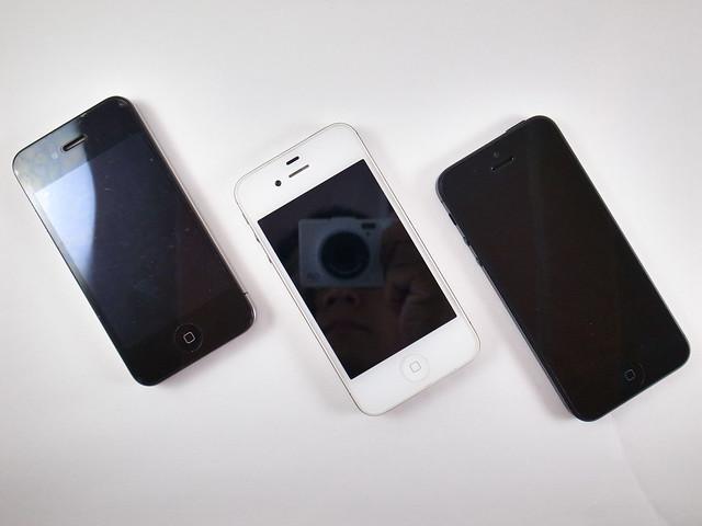 iPhone 4&4S&5