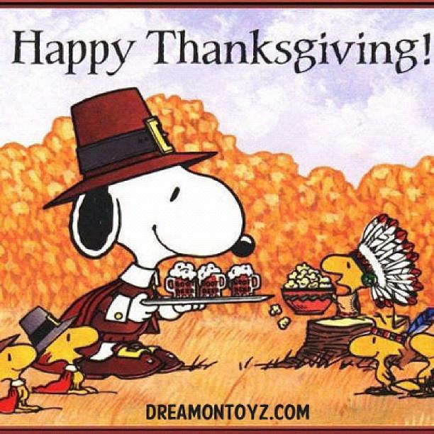snoopy happy thanksgiving 4k - photo #11