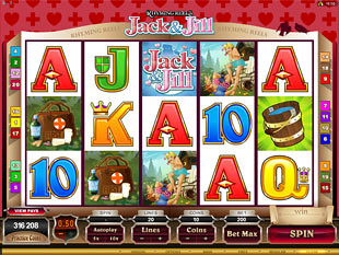 Rhyming Reels - Jack and Jill slot game online review