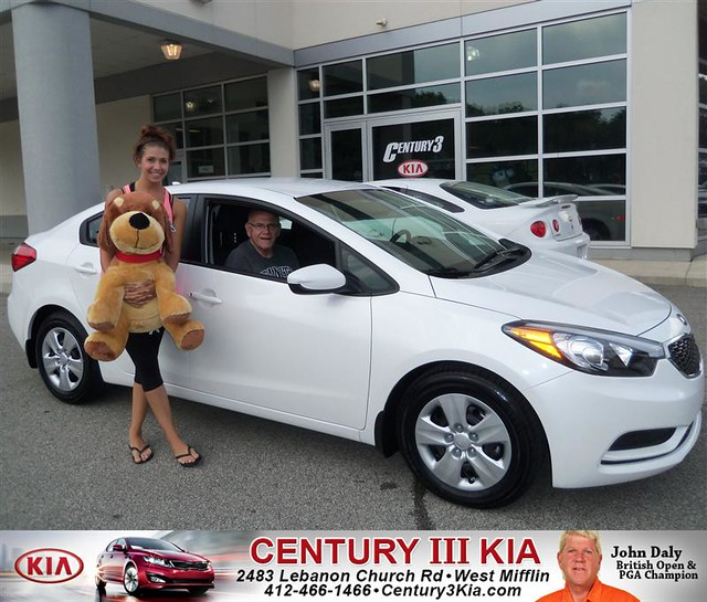 thank you to victoria hamilton on the 2014 kia forte from laurie bonine and everyone at century