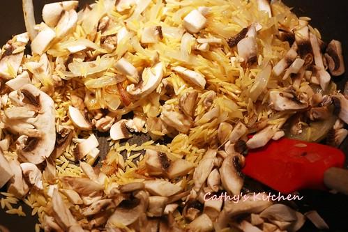 蘑菇義大利米麵 Mushroom Orzo 12