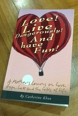 Book review: Love! Live Dangerously! And Have Fun!: a mother's lessons on love, hope, loss and the gifts of life