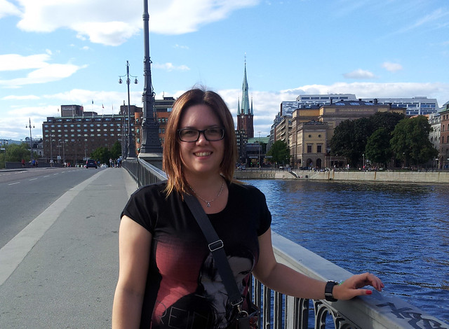Me on Vasa bridge