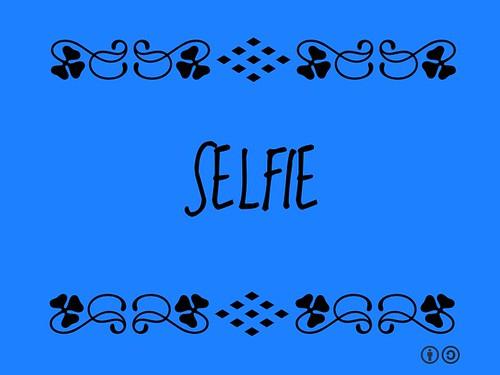 Buzzword Bingo: Selfie