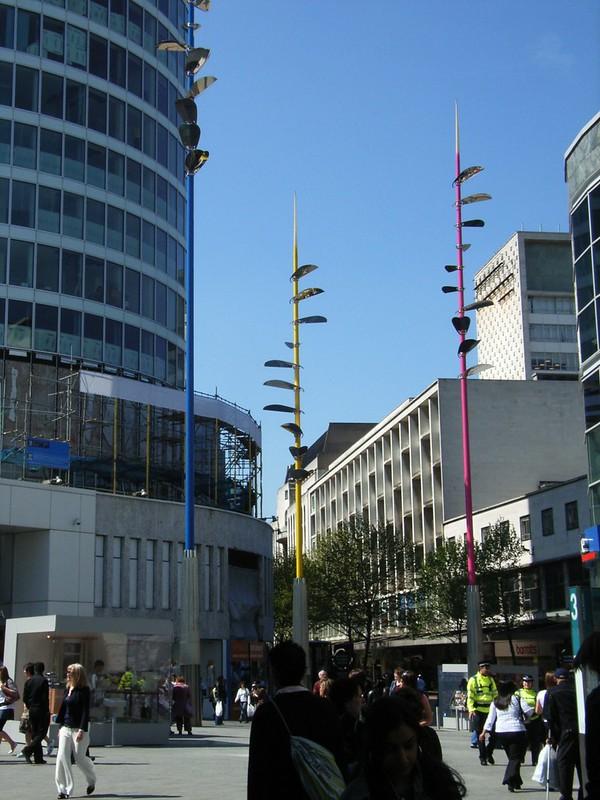 Bullring Light Wands - Birmingham