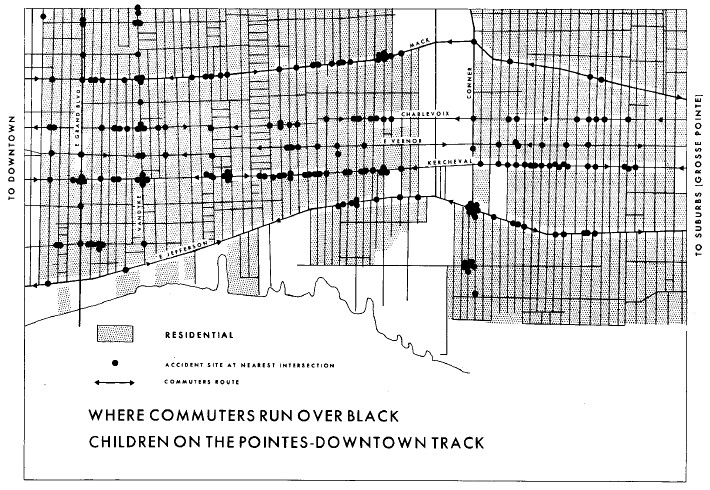 Where Commuters Run Over Black Children