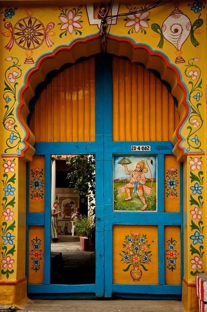 # 219 Colorful Door