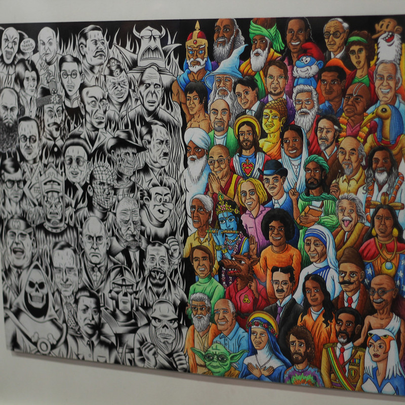 Chris Dyer solo art show at Le Dep