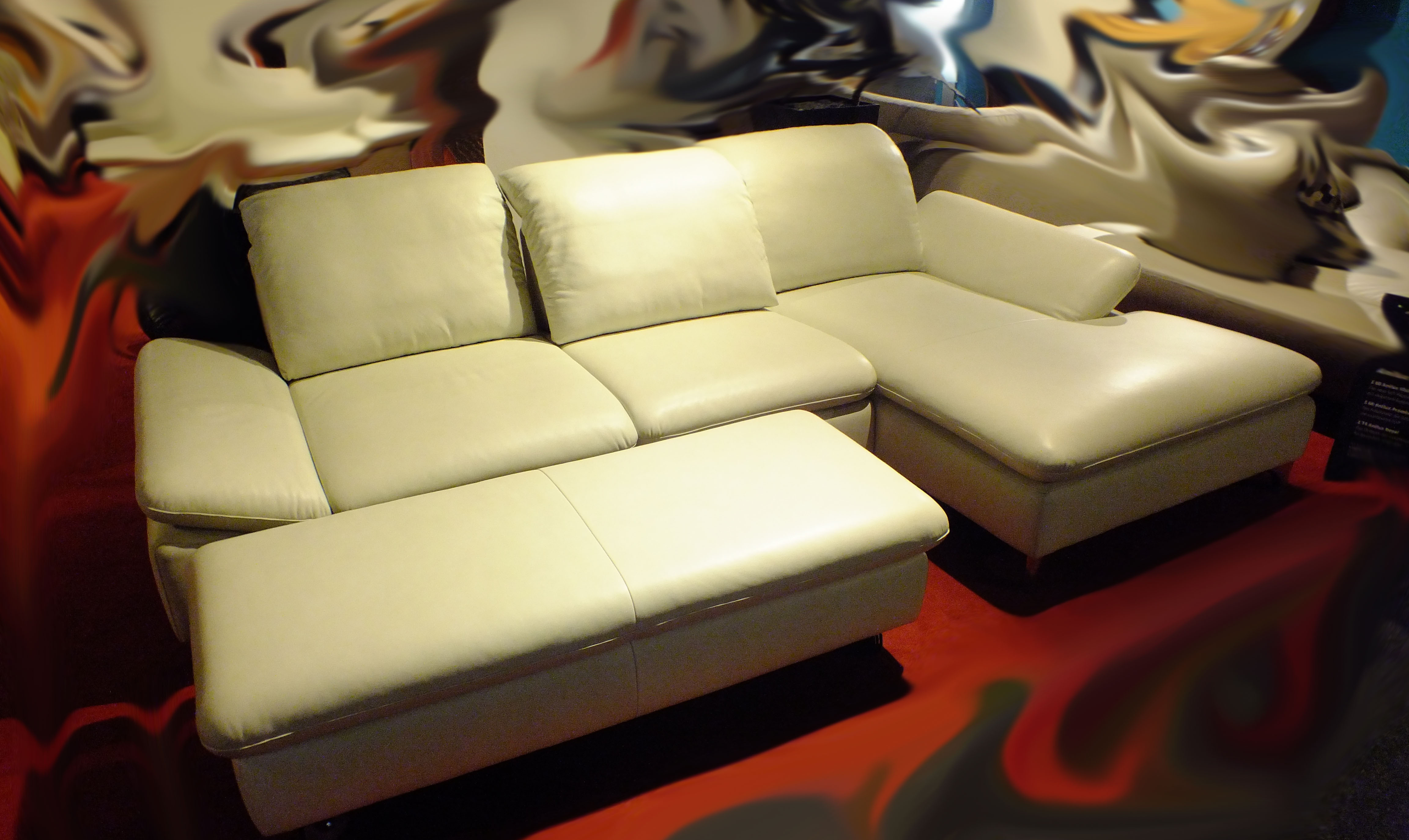 willi schillig willi schillig designer leather cornersofa. Black Bedroom Furniture Sets. Home Design Ideas
