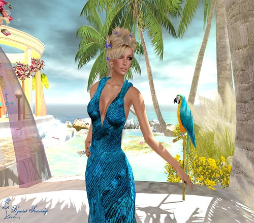 Paris Metro Couture: s'agapw mazi mu-TropicalBlue *(gift)*