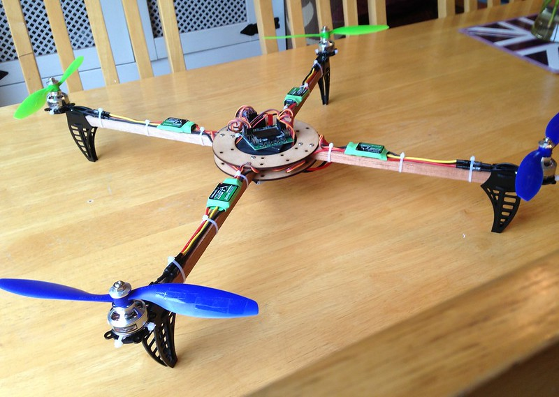 Finished Quadcopter